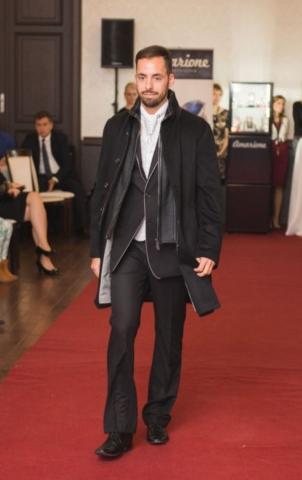 Pánky kožený kabát