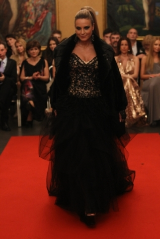Bratislavské módne dni 2012 módna prehliadka Bortolami